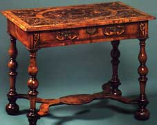 William and Mary Side Table Side